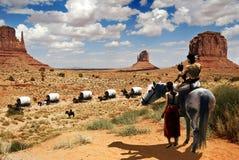 Nativos americanos Imagens de Stock