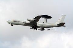 NATO AWACS E-3 Sentry plane Royalty Free Stock Image