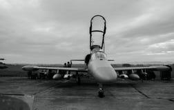 NATO days in Czech Republic. Ostrava- Mošnov airport. nExpositin of army airplanes Stock Photos