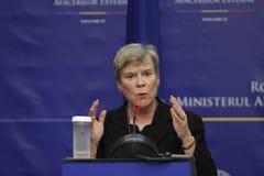 NATO Deputy Secretary General Rose Gottemoeller Stock Images