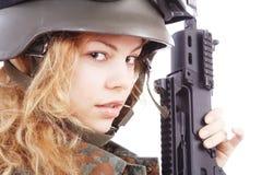 Nato gun Stock Image