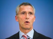 NATO Secretary General Jens Stoltenberg Royalty Free Stock Photography