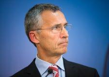 NATO Secretary General Jens Stoltenberg Stock Photo