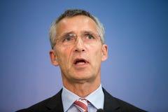 NATO Secretary General Jens Stoltenberg Royalty Free Stock Images