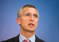 NATO Secretary General Jens Stoltenberg Royalty Free Stock Photo