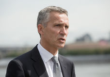 NATO Secretary General Jens Stoltenberg. NEW YORK, USA - Sep 20, 2016: NATO Secretary General Jens Stoltenberg during the 71 th session of the UN General stock photo