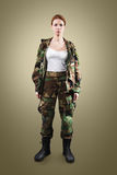 NATO soldier. royalty free stock photos