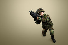 NATO soldier. stock image