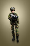 NATO soldier. stock photography
