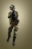 NATO soldier. stock images