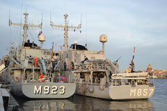 NATO warship. Royalty Free Stock Photography
