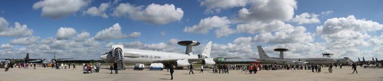 NATO-WSKA BAZA POWIETRZNA Geilenkirchen zdjęcia stock
