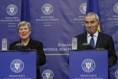 NATO-WSKA delegat sekretarka - generał Różany Gottemoeller Obrazy Stock