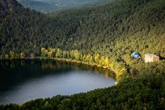 Natonal park in Kazakhstan Royalty Free Stock Image