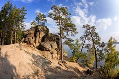 Natonal park in Kazakhstan Royalty Free Stock Images