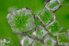 Natrium-chloridekristallen Stock Foto