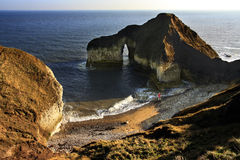 Natürlicher Bogen - Yorkshire - England Stockbild