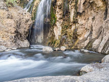 Natron waterfall Stock Image