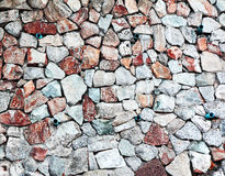 Natrual stone wall Stock Photos