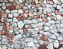 Natrual stone wall Stock Photos