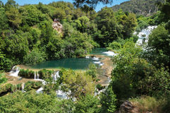 Natsmonalny park of Krka Croatia. Royalty Free Stock Images