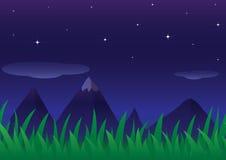 natt stock illustrationer