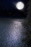 natt royaltyfri foto
