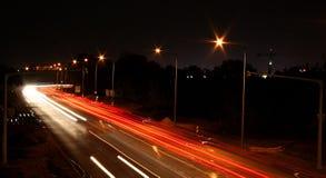 natt Arkivbild