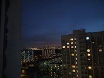 natt arkivfoton