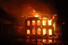 Natt av brandasken Fotografering för Bildbyråer