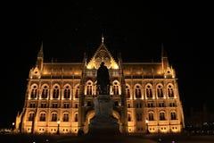 Natt av Budapest royaltyfria bilder