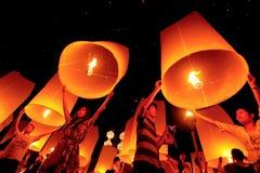 Natt av ljus Royaltyfri Fotografi