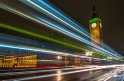 Natt av stora Ben Royaltyfri Foto