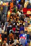 natt för 2 marknad Royaltyfri Fotografi
