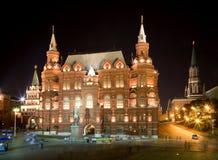 natt för 3 moscow royaltyfria bilder