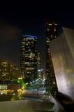 natt för angeles stadslos arkivfoto