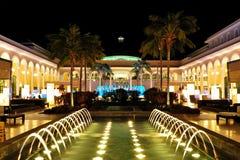 natt för hotellexponeringslyx Royaltyfri Foto