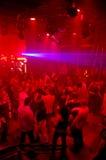natt för klubbadansdisko Arkivfoto