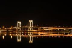 Natt i Macao Arkivfoto