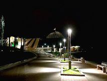 natt minsk Arkivbilder