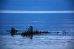 Natt på havet Fotografering för Bildbyråer