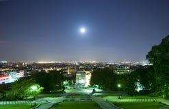 natt paris Arkivbilder