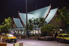 Natt Pattaya Royaltyfria Foton