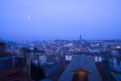Natt Porto Portugal Arkivfoto
