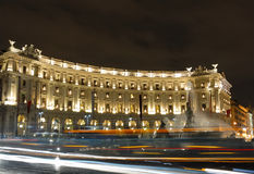 natt rome Arkivbild