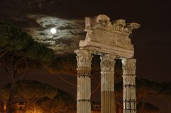 natt rome Arkivfoton