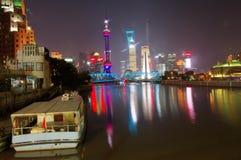 Natt shanghai, Arkivfoto