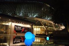 natt singapore Royaltyfria Foton