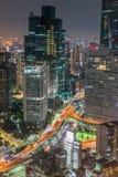 natt tokyo Arkivfoto