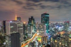 natt tokyo Royaltyfri Foto